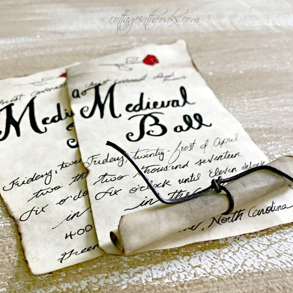DIY Handmade Invitations Tickets Nurturing the Gifts of Others