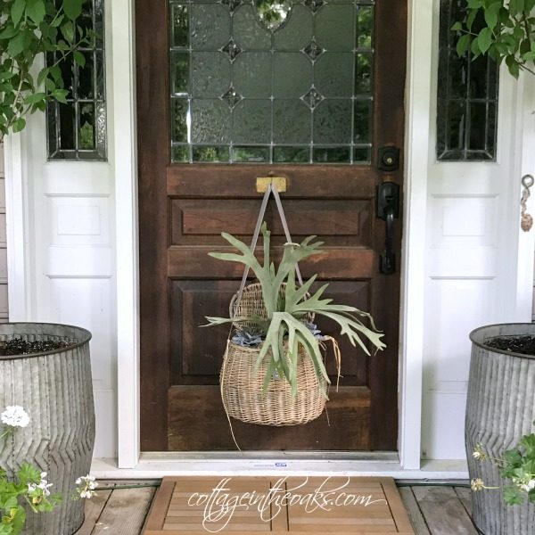 front door decor summerSummer Front Door Decor Ideas  Cottage in the Oaks
