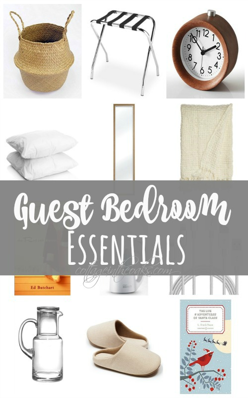 Getting Your Guest Bedroom Ready For The Holiday Season Ahead!