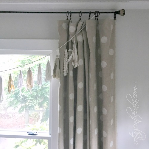 DIY Floor Length Curtains That You Can Make In An Afternoon